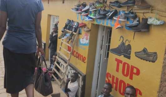Geschäft in Nyamirambo in Kigali/Ruanda