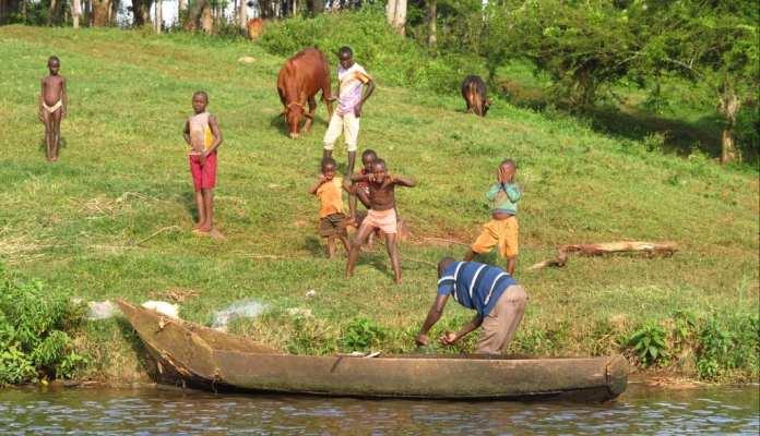 Am Weißen Nil in Uganda