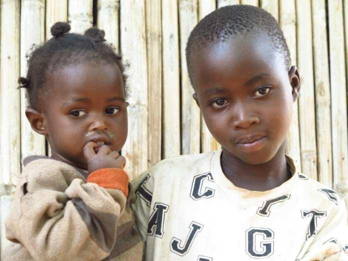 Kinder in Uganda