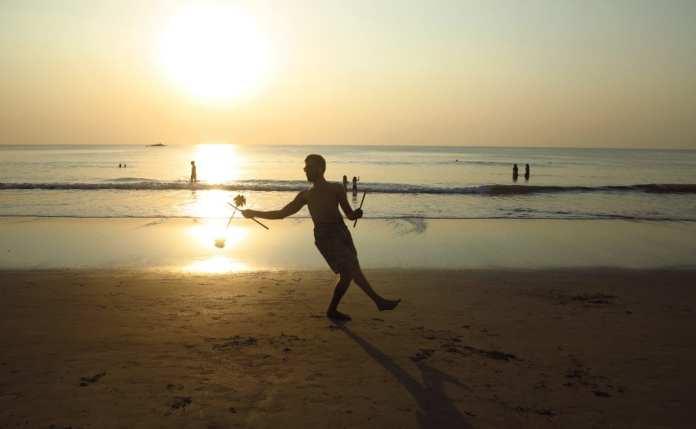 Strand von Gokarna in Karnataka
