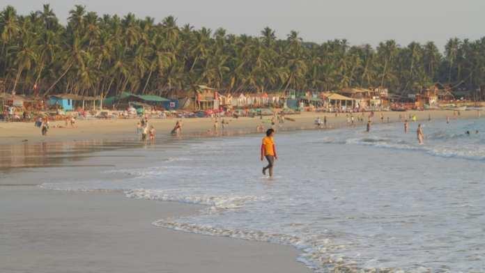 Strand von Palolem in Goa