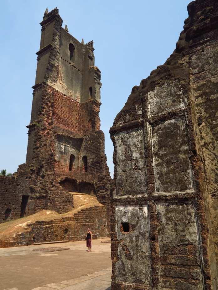 Augustinerkloster von Goa Velha in Indien