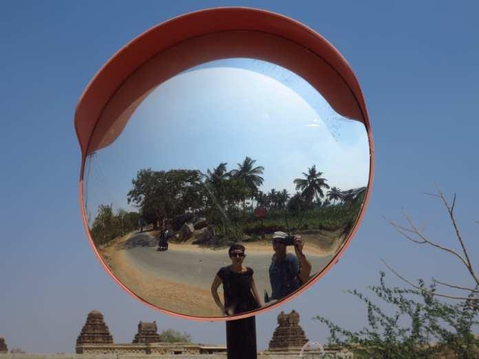 Gabriele Tröger und Michael Bussmann in Indien