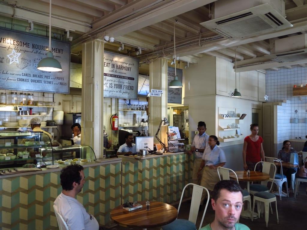 Café in Kala Ghoda in Mumbai