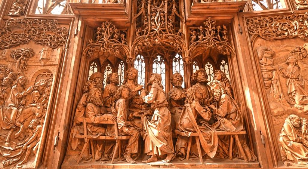 Riemenschneider-Altar in Rothenburg ob der Tauber