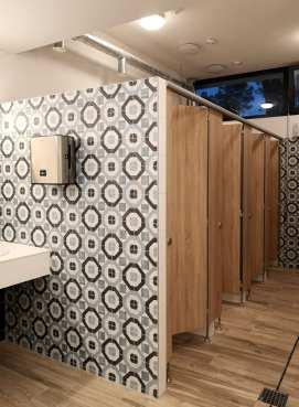 Stylishe Toiletten
