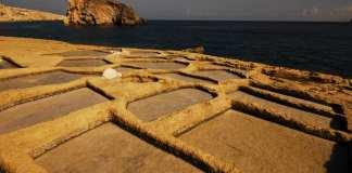 Salinen auf Gozo (Malta)