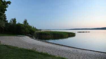 Strand von Sommersdorf am Kummerower See