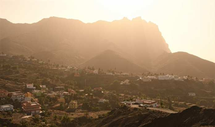 Alojera auf La Gomera