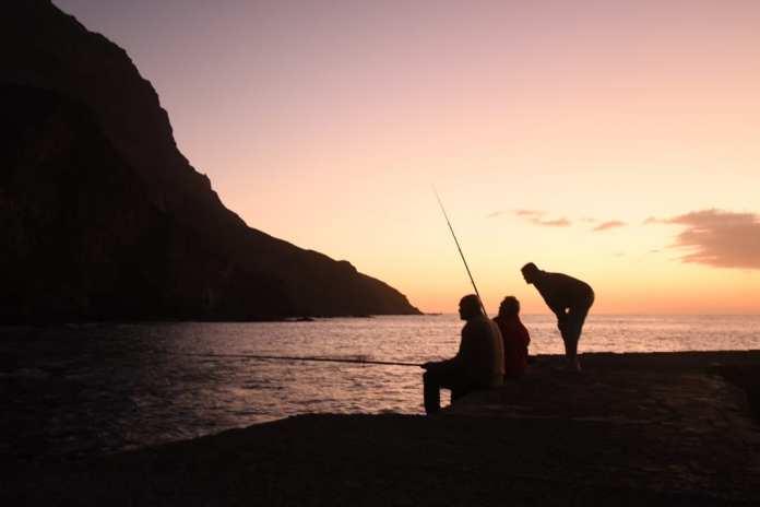 Sonnenuntergang in Alojera auf La Gomera