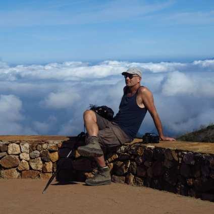 Alto de Garajonay auf La Gomera