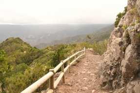 Wanderweg von Vallehermoso zur Kapelle Santa Clara