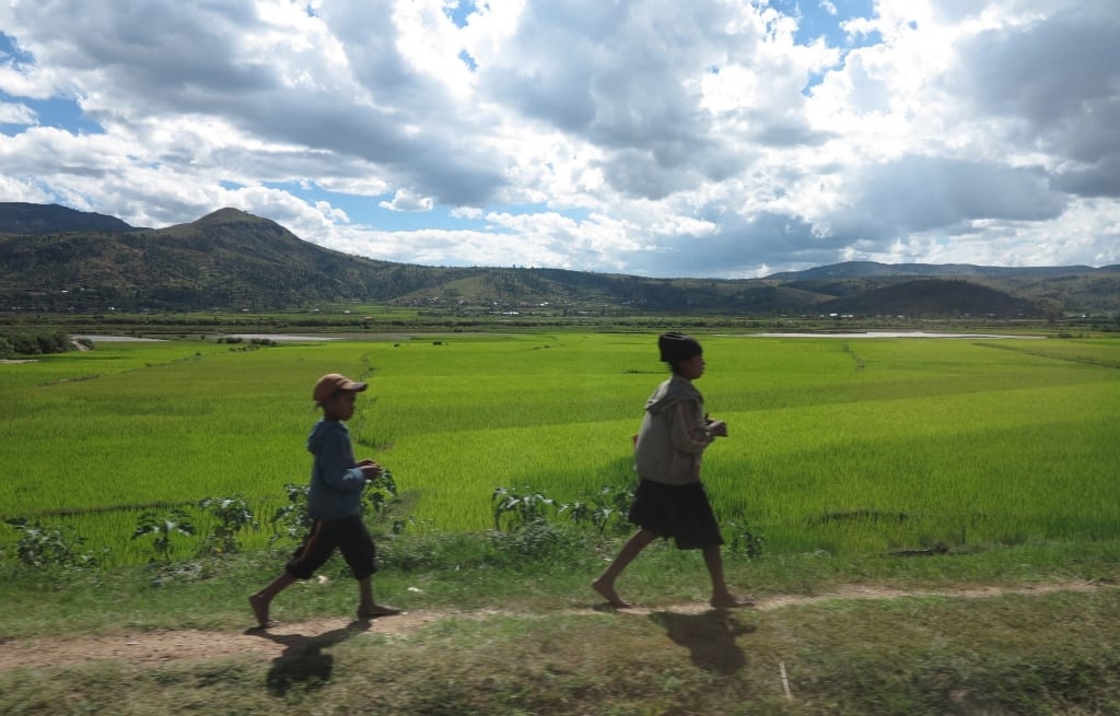 Bei Antsirabe in Madagaskar