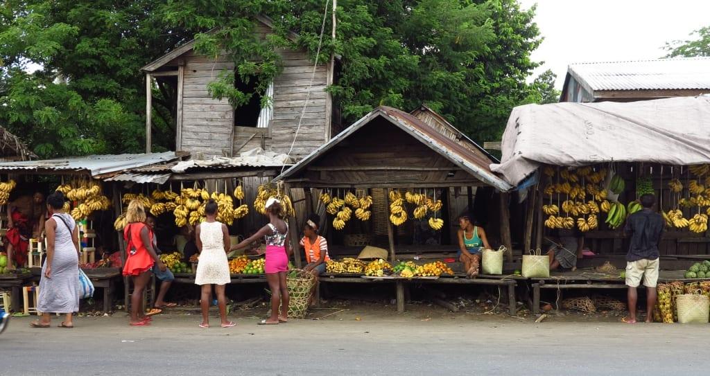 Bananenstand in Madagaskar
