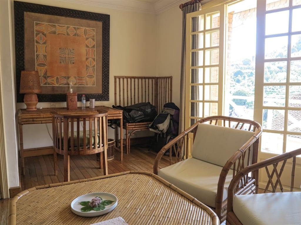 Tasara Guesthouse in Fianar in Madagaskar