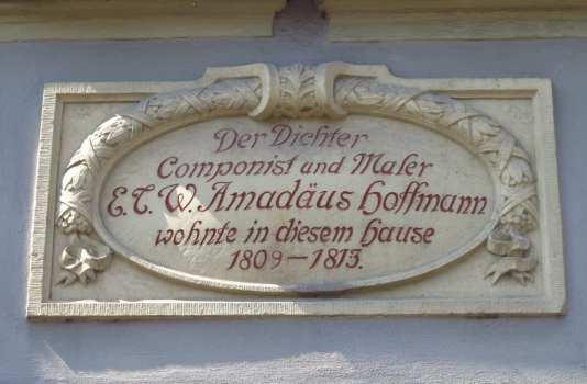 E.T.A.-Hoffmann-Gedenkstätte Bamberg