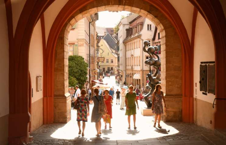 Obere Brücke in Bamberg