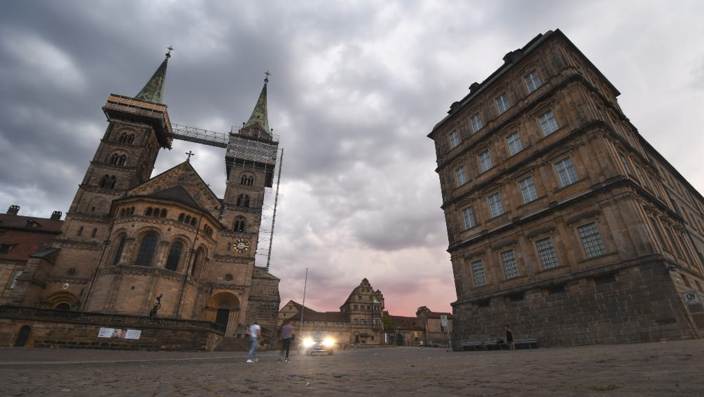 Domplatz in Bamberg