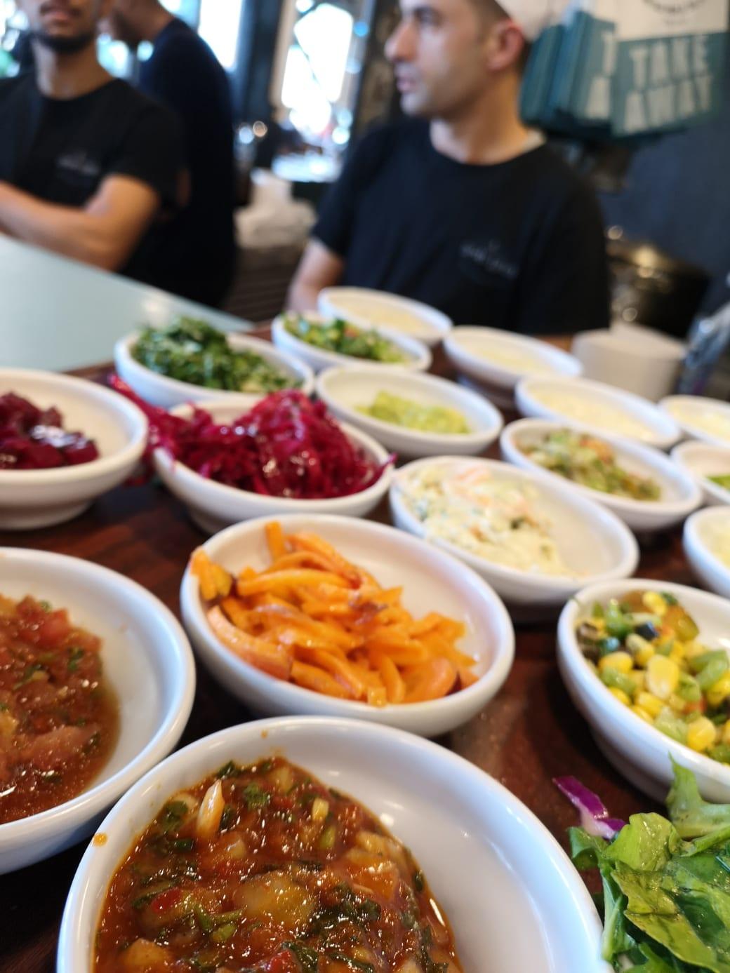 Restaurant Old Man and the Sea in Jaffa in Tel Aviv