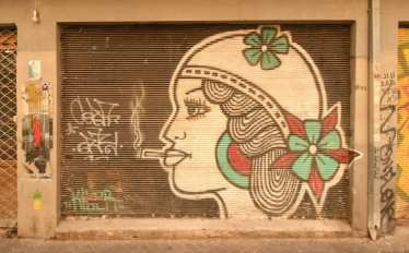 Streetart in Florentin