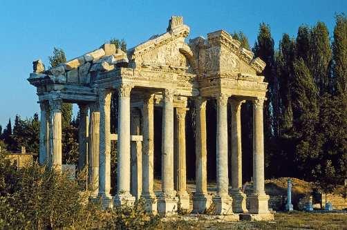 Ruinen von Aphrodisias in der Türkei