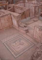 Die Hanghäuser von Ephesus in der Türkei