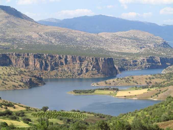 Nemrut-Region in Ostanatolien