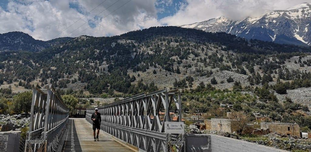 Brücke bei Aradena auf Kreta