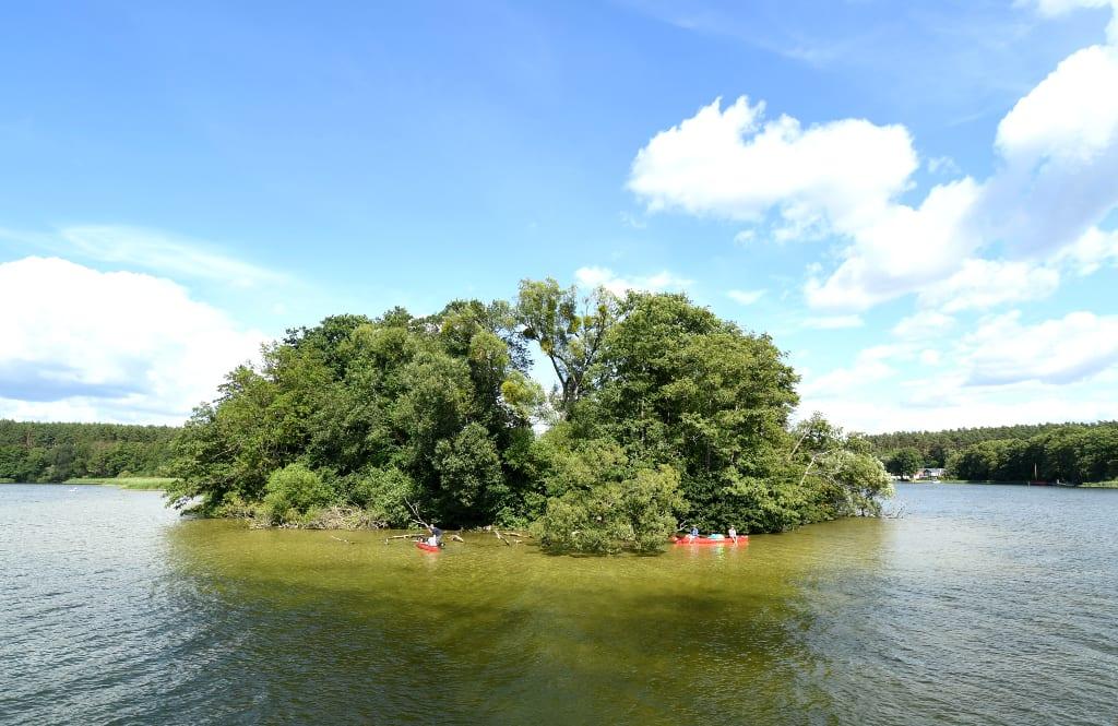 Insel in einem See
