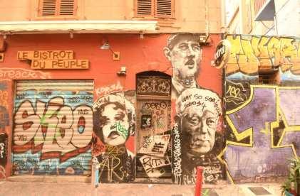 Bunte Streetart