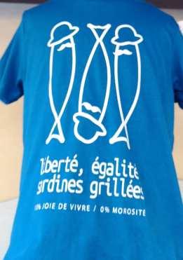 T-Shirt mit Sardine