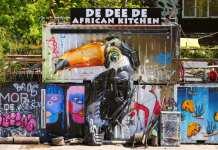 streetart Tukan African Kitchen