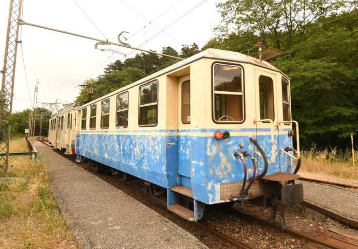 Alter Eisenbahnwaggon