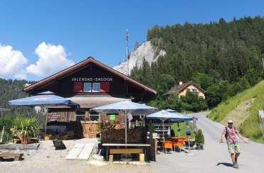 Blockhütte Valendas