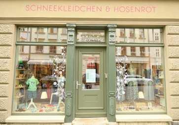 Schneekleidchen und Rosenrot Laden
