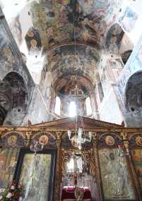 Freskenschmuck einer Kirche