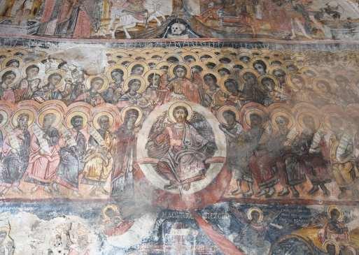 Filigrane Fresken Jesus