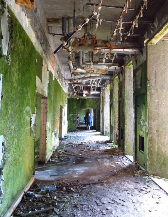 Ruinöser Korridor