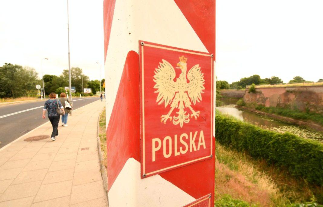 Grenzübergang nach Polen