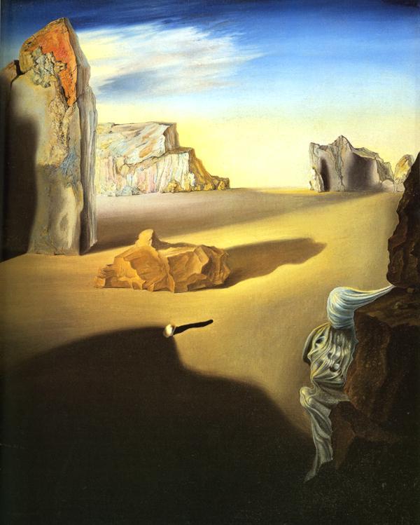 Shades of Night Descending- Salvador Dali