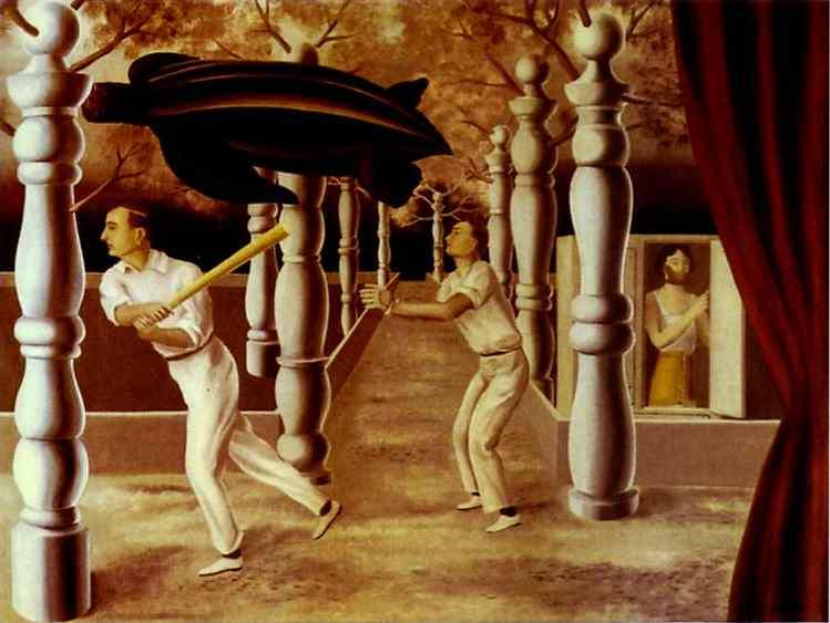 René Magritte. The Secret Player.