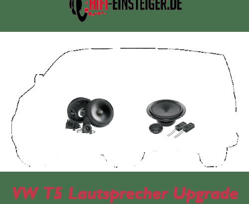 VW T5 Lautsprecher Upgrade Hifi Einsteiger