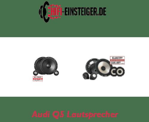 Audi Q5 Lautsprecher nachrüsten