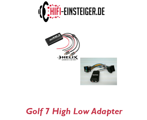 Golf 7 High Low Adapter