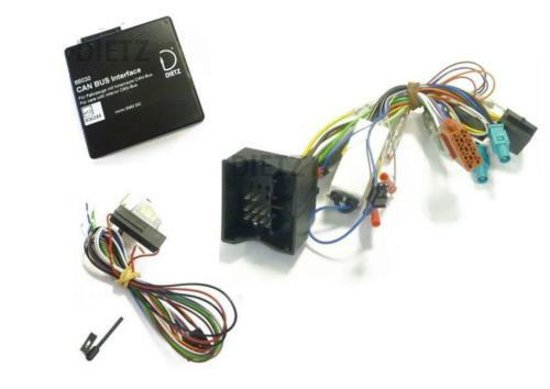 VW T5 CAN Bus Adapter für Lenkradfernbedienung