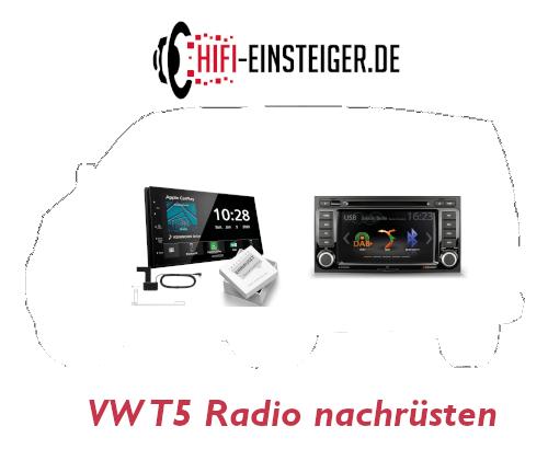 VW T5 Radio nachrüsten Hifi Einsteiger