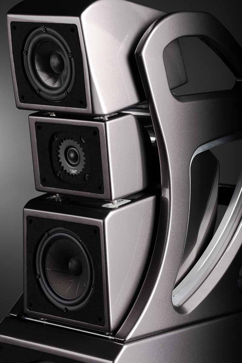 Wilson Audio Alexx V nieuwe vloerstaander met vijf drivers