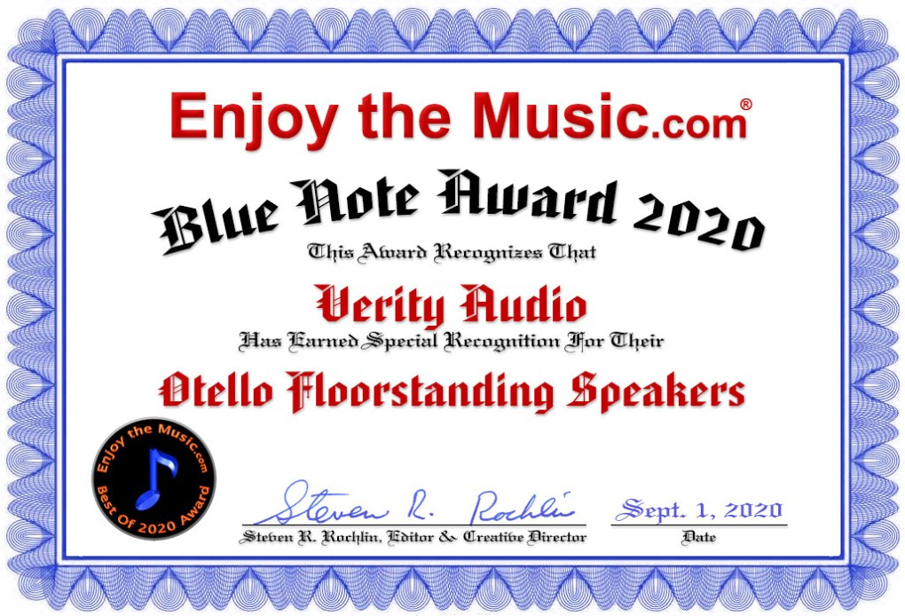 This image has an empty alt attribute; its file name is Verity_Audio_Otello.jpg