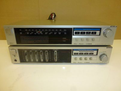 Fisher CA-35 Amplifier Equalizer FM-35