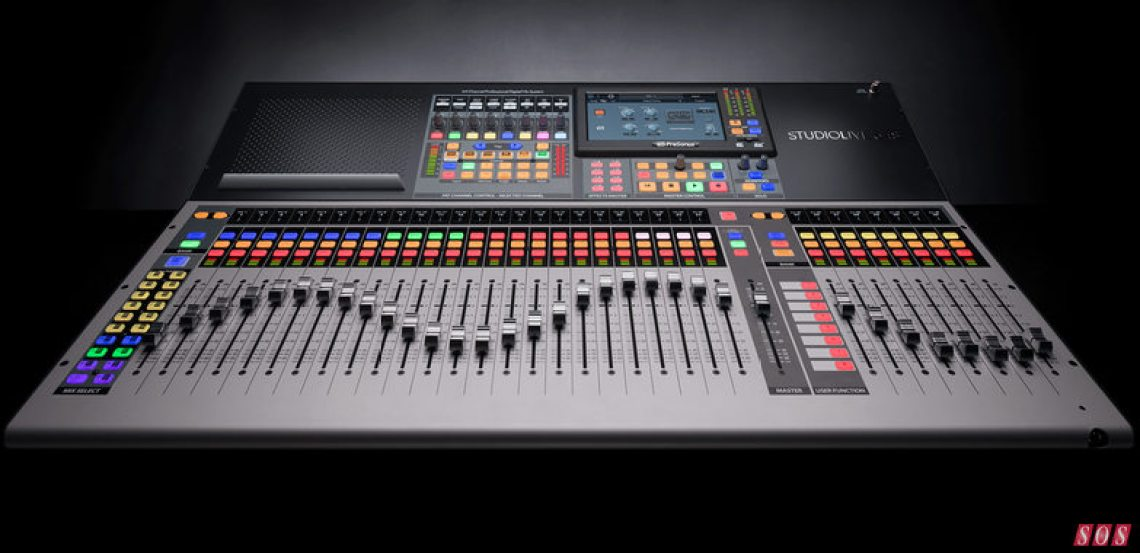 A whole suite of Fat Channel plug-ins is now available free to owners of PreSonus's StudioLive Series III digital consoles and rack mixers.
